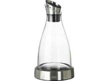 Emsa Kühlkaraffe FLOW 1,0 Liter, Weiß, Glas