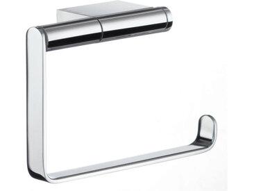 Smedbo Toilettenpapierhalter Air, Grau, Messing verchromt