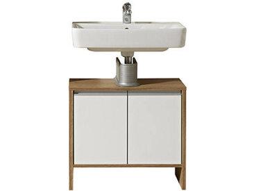 XORA Waschbeckenunterschrank WELS, beige, Holznachbildung