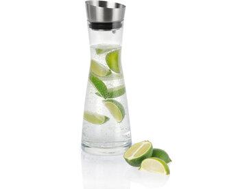 blomus Wasserkaraffe 1l Aldoa, Weiß, Glas