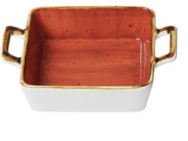 Ritzenhoff & Breker Auflaufform 18x13,5cm ROMO, beige, Porzellan