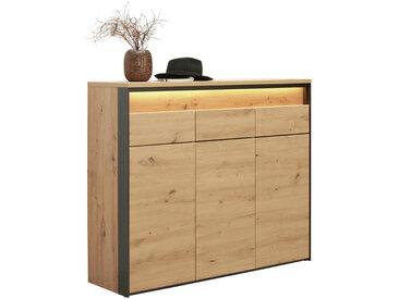 Voleo Schuhschrank EDRA, Braun, Holznachbildung