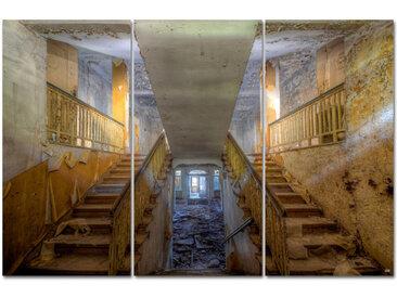 """Kollektion Wiedemann Bild """"WHEN THE LAST LIGHT ESCA, Mehrfarbig, Materialmix"""