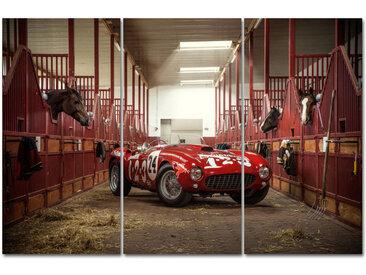 """Kollektion Wiedemann Bild """"HORSES 2015"""", Mehrfarbig, Materialmix"""