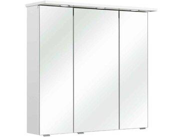 Pelipal Spiegelschrank 80 cm DORIA, Weiß, Holznachbildung