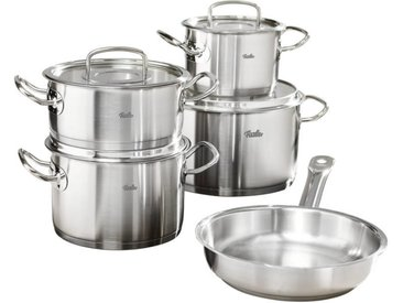 Fissler Topfset Original Profi Collection 5-tlg., Grau, Edelstahl