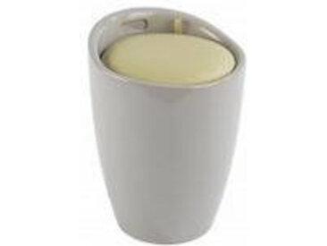 Wenko Badhocker CANDY, beige, Kunststoff