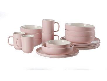 Ritzenhoff & Breker Kombiservice 16-tlg. JASPER, Pink, Steinzeug