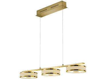 Trio Leuchten LED-Pendelleuchte AGENTO, Gelb, Metall