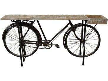 Z2 Bartisch BICYCLE, Orange, Holz