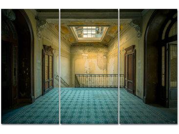 "Kollektion Wiedemann Bild ""YOU CANT CHANGE THE WAY, Mehrfarbig, Materialmix"