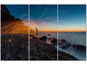 "Kollektion Wiedemann Bild ""STEELWOOL FUN AT THE BAL, Mehrfarbig, Materialmix"
