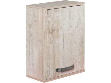 Stylife Oberschrank MILAN, Braun, Holznachbildung