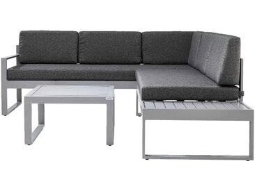 Ambia Lounge-Set STOCKHOLM, Grau, Stoff