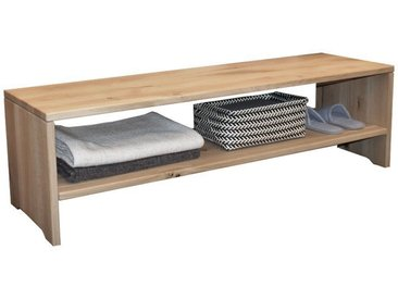Bettbank Senne Wildeiche Massivholz 140cm