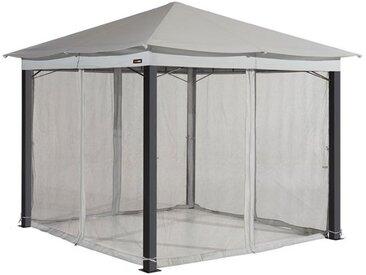 Moskitonetz (4-teilig) für Gartenpavillon Sunset Classic 3x4m, stone