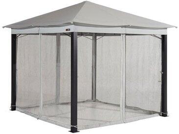 Moskitonetz (4-teilig) für Gartenpavillon Sunset Premium 3x4m, stone