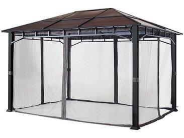 Moskitonetz (4-teilig) für Gartenpavillon Sunset Deluxe 3x4m, loft grey
