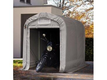 Zeltgarage 1,6x2,4 m, PVC 550, grau Beton