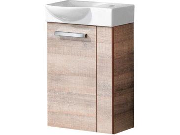 Fackelmann A-VERO Gäste WC Set 45 cm, links