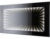 007 Infinity LED Spiegel 80 x 50 cm