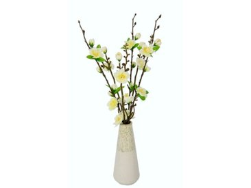 Kunstblume Kirschblüten in Vase