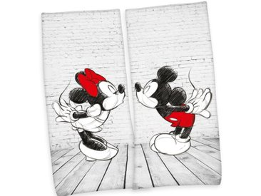 Kinder Duschtuch Mickey & Minnie
