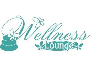 Wandtattoo Wellness Lounge, Blume