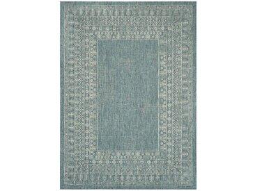 Innen-/Außenteppich Mccoy in Blau/Grau