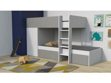 Etagenbett Carney mit Möbel-Set, 90 x 190 cm