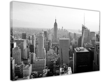 Leinwandbild New York City Wolkenkratzer, Fotodruck