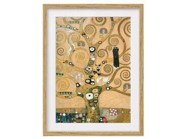 Gerahmtes Papierbild Der Lebensbaum von Gustav Klimt
