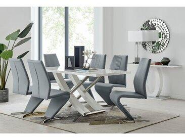 Nettie Essgruppe mit 6 Stühlen