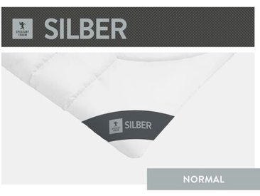 Steppbett Silber