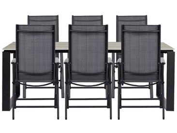 6-Sitzer Gartengarnitur Luro