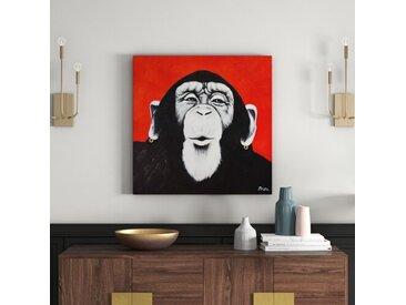 Leinwandbild Affe