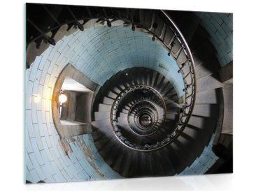 Glasbild Treppe