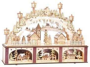 Weihnachtsdorf Lichtbogen