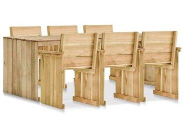 6-Sitzer Gartengarnitur Guthrun