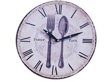 Wanduhr Durchmesser 29 Küchenuhr Wandbehang Wanddeko Uhr France Paris