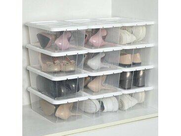 Stapelbare Schubox für 1 Paar Schuhe