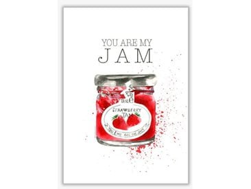 Poster You Are My Jam von Mercedes Lopes Charro