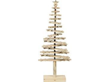 Künstlicher Weihnachtsbaum Beige mit Ständer