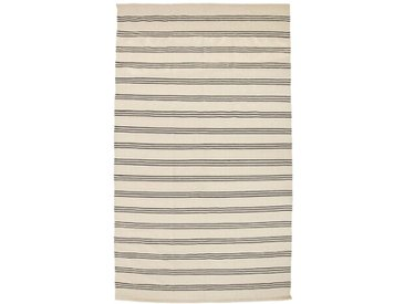 Teppich aus Baumwolle in Beige