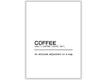 Poster Coffee Attitude