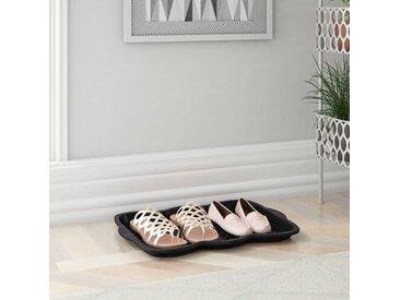 Schuhabtropfschale für 3 Paar Schuhe