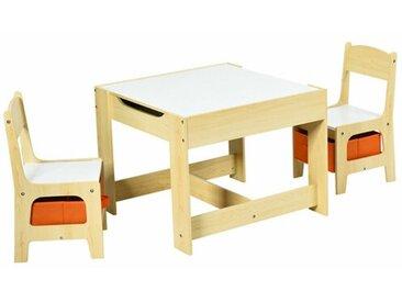 3-tlg. Kinder Tisch und Stuhl-Set Areli