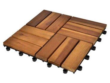 30 cm x 30 cm Grundfliese Market Harborough aus Holz