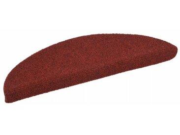 Stufenmatte Hendley in Rot