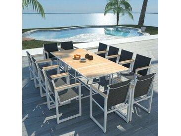 12-Sitzer Gartengarnitur Foret